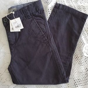 Bonpoint trousers, blue cotton, dress up or down